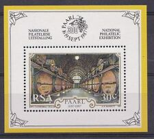 Sud Africa South Africa 1987 Bf 19 Esposizione filatelica a Paarl MNH