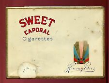 VINTAGE - SWEET CAPORAL- CIGARETTES- IMPERIAL TOBACCO - CANADA - Flat 50 TIN/CAN