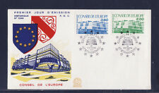 enveloppe 1er jour   conseil de l' Europe  67  Strasbourg         1987