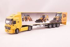 JOAL 359 Mercedes Actros JCB Worlwide Events Truck with Box Trailer Scale 1:50