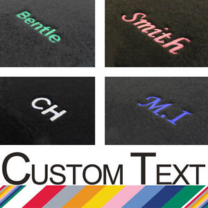 Tailored Upgrade Coloured Personalised Embroidery READ DESCRIPTION