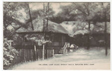Lodge Camp Talahi Detroit YWCA Employed Girls Camp Michigan postcard