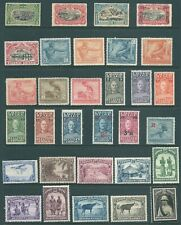 BELGIAN CONGO mint stamp collection from 1910-1937