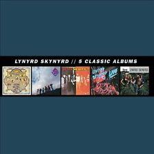 5 Classic Albums [Box] by Lynyrd Skynyrd (CD, Nov-2013, 5 Discs) SEALED PROMO