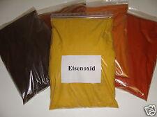 Eisenoxid Farbmix 5kg zu je 1kg in gelb,schwarz,braun,orange,ziegelrot