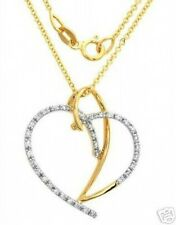 Stunning Necklace with Genuine Clean Diamonds