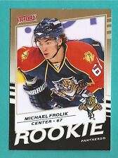 2008-09 Upper Deck Victory GOLD Variation #326 Michael Frolik (Rookie)