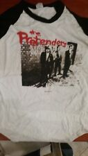 THE PRETENDERS 1984 World Tour vintage licensed concert baseball jersey shirt XL