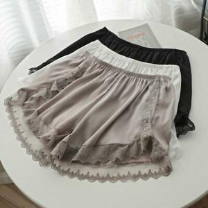 Crossdresser Sissy Satin And Lace Peti Panty/ Slip