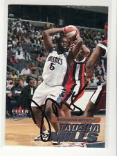Auction Tausha Mills Washington Mystics Autographed Card