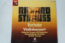 Richard Strauss Burleske Violinkonzert Staatskapelle Dresden Ulf Hoelscher (LP5)