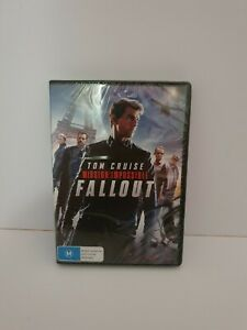Mission Impossible - Fallout (DVD, 2018) region 4