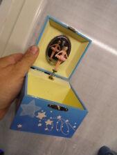 boite a bijoux musicale music jewelry box avec danseuse et miroir TROUSSELIER