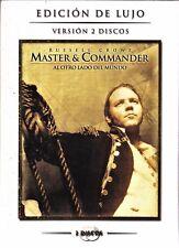 MASTER & COMMANDER de Peter Weir. (2 dvd) Tarifa plana en envío dvd España, 5 €