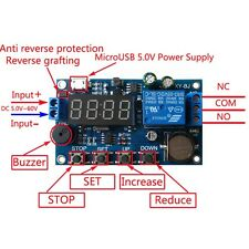 Real Time Clock Control Synchronization 24H 5 Periods Precision Module Board MA