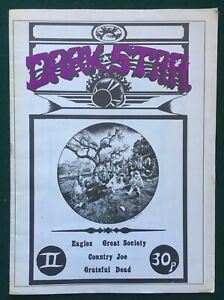 DARK STAR # 2 - UK 1976 Magazine Eagles, Great Society, Country Joe, Grateful De