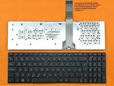 Teclado Español Asus K55a, K55vm, K55xi negro sin marco      0170031