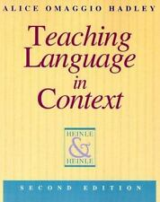 Teaching Language in Context (Teaching Methods)-ExLibrary