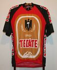 WORLD JERSEYS CERVEZA TECATE BEER SHORT SLEEVE CYCLING JERSEY SIZE ADULT XL