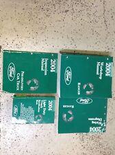 2004 Ford RANGER TRUCK Service Shop Repair Manual Set W EWD + SPECS + PRE DELIVE