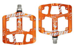 Road MTB Mountain Bike FR Bicycle Pedal 3 bearings Flat Cycling Pedals Aluminum