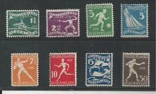 NETHERLANDS # B25-32 MNH 1928 SUMMER OLYMPICS (8388)