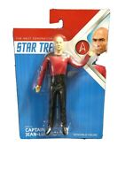 "CAPT PICARD 6/"" Bendable Posable Classic STAR TREK TV Series NEW Bendy Figure"