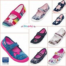 Shoes for Girls Canvas Trainers Pumps Slippers Sandals Summer Size 6–10 Toddler
