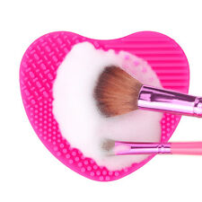 Silicone Pinceau maquillage Nettoyeur lessive Conseil scrubber Nettoyage Tapis