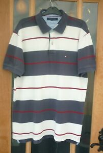 Large Mens Tommy Hilfiger Polo Shirt