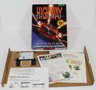Highway Hunter Pc 1994 Video Game Computer Big Box 3.5 Diskette