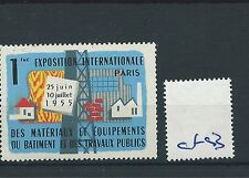 wbc. - CINDERELLA/POSTER - CF93 - EUROPE - EXPO INT. - PARIS - 1955
