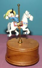 Willitts Disney Mickey Mouse Carousel Horse Music Box