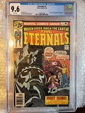 Eternals #1 1st App & Origin of The Eternals 1976 MCU Movie White Pages CGC 9.6