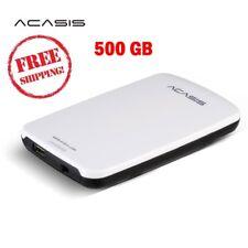 Portable Original HDD External Hard Drive2.5 500GB Storage USB 2.0 Power Switch
