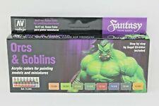 Vallejo Game Colour Orcs & Goblins Paint Set VAL72304