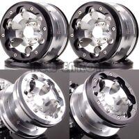 "2.2"" 6 Holes Beadlock Wheels(4) Aluminum 2023 For Axial Yeti/Wraith RC Crawler"