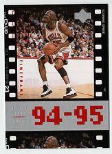Michael Jordan 1998 Upper Deck Timeframe23  94-95 Scoring Spree Basketball card