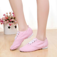 Adult canvas jazz shoes soft shoes dancing shoes ballet shoes new training shoes