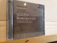 CD - SHOSTAKOVICH Cello Concertos ROSTROPOVICH (CT 10037) SEALED MINT