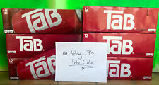(3) Tab Cola 12 Cans Fridge Pack 12 Oz Diet Soda Discontinued-Exp. May 10th 2021