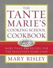 Mary Risley~TANTE MARIE'S COOKING SCHOOL COOKBOOK~SIGNED 1ST/DJ~NICE COPY