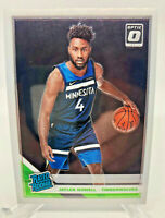 Jaylen Nowell ROOKIE Card - 2019-20 Donruss Optic Rated Rookie Card #155 Wolves