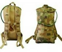 AUSCAM DPCU HYDRATION BACKPACK MOLLE TACTICAL #FREE 2LT BLADDER ARMY / CADETS