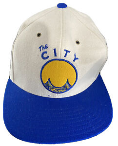 Adidas NBA Golden State Warriors The City Retro Snapback Hat Cap - One Size