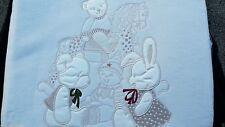 New HUSH BUBBA - Heritage Friend Cot Ivory Blanket