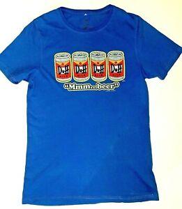 Men's Simpson's Duff Beer 2010 Short Sleeve T-Shirt Size M