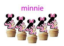 Decoraciones Para Pastel Con Temática De Minnie Mouse Ebay