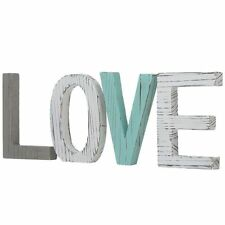 LOVE Sign Block Wooden Rustic Style Decorative Letter Ornaments Home Crafts