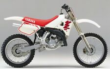 YAMAHA YZ125  (1979-2004) SERVICE , Owner's  & Parts Manual CD